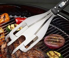 Multifunction BBQ Tool Set  http://www.wicked-gadgets.com/multifunction-bbq-tool-set/  #bbq #clever