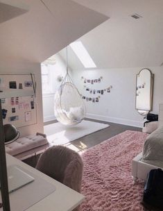 dream rooms for girls teenagers / dream rooms ; dream rooms for adults ; dream rooms for women ; dream rooms for couples ; dream rooms for adults bedrooms ; dream rooms for girls teenagers Girl Bedroom Designs, Room Ideas Bedroom, Bedroom Inspo, Girls Bedroom Decorating, Bedroom Themes, Teen Bedroom Inspiration, Teen Bedroom Furniture, Bedroom Setup, Bedroom Arrangement