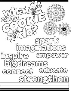 Girl Scout Cookie Coloring Pictures For Kids Kids