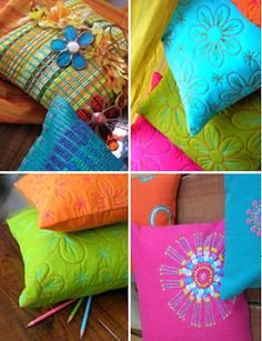 Bright colours & motifs compliment each other!