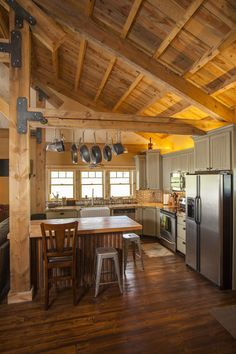 Idaho Barn Home | Feature Project | Sand Creek Post & Beam