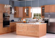 IKEA ADEL kitchen $2199 for 10' X 10'