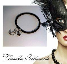 Maritim Anker Kautschuck-Armband mit Sw Schmetterling, zu finden auf Facebook Thasalu Schmuck   https://m.facebook.com/Thasalu-Schmuck-Chunks-Co-295839107195113/