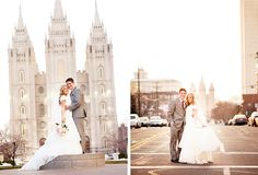 LDS Wedding - Bethany Reed Photography - Camille and Brett Salt Lake City Temple