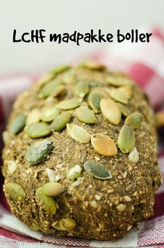 Rye Bread Recipes, Keto Bread, Diet Recipes, Cake Recipes, Snack Recipes, Lchf, Protein Snacks, Food And Drink, Baking