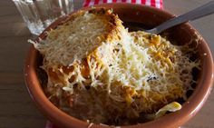 Felicity's perfect french onion soup. Photograph: Felicity Cloake