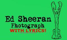 Ed Sheeran Photograph Lyrics – Official