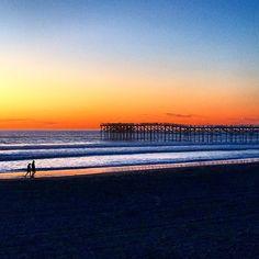 Beautiful San Diego Sunset in Pacific Beach - Rhythm of Our Lives Blog @ RhythmofOurLives.com
