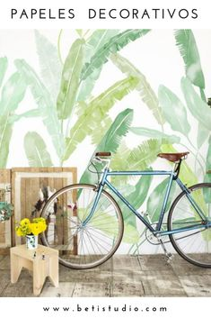 Palm Springs, Estilo Hipster, Tropical, Green Wallpaper, The Perfect Touch, Order Prints, In The Heights, Designer, Color Schemes