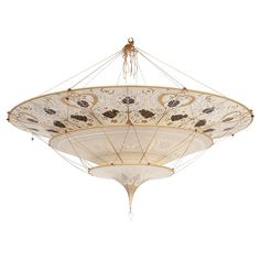 200 best fortuny lighting images on pinterest fortuny lamp lamps lot 250 fortuny italy est 1921 three tier scheherazade chandelier silk glass aloadofball Choice Image