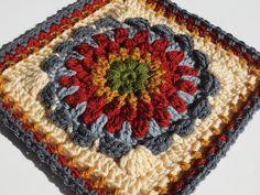 Crochet Crafts, Easy Crochet, Crochet Projects, Free Crochet, Knit Crochet, Crochet Granny, Crochet Blocks, Crochet Squares, Granny Squares