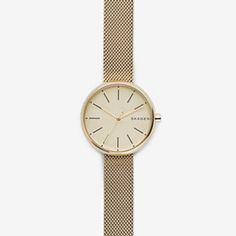 Signatur Steel-Mesh Watch