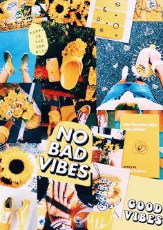 #nobadvibes #yellow #aesthetic