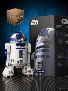 Interactive Robot Enabled Droid Star Wars Action Figure Force Awakens New