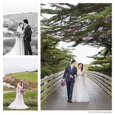California Coast Wedding Purple Ocean Beach Ritz Carlton Half Moon Bay Jaytsai Photography San Francisco Area Venues