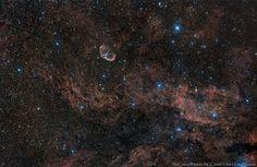 The Crescent & The Gamma Cygni Nebulae   Flickr - Photo Sharing!