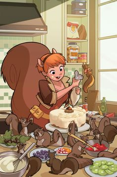 Squirrel Girl by gurihiru