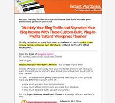 More WordPress themes