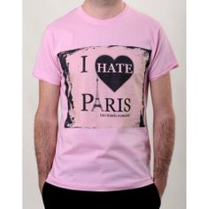 ro is for sale! Paris T Shirt, Hate, Romantic, Boutique, My Style, Mens Tops, Shirts, Fashion, Moda