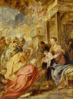 The Adoration of the Magi - Rubens, c. 1633