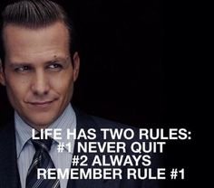 A little bit of motivation for all the ladies from the super sexy Harvey Specter… Wisdom Quotes, Quotes To Live By, Me Quotes, Motivational Quotes, Inspirational Quotes, People Quotes, Harvey Spectre Zitate, Harvey Specter Quotes, Suits Quotes Harvey