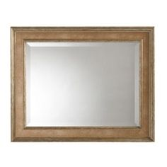 Lucerne 30 in. x 24 in. Framed Mirror in Antique Pewter-71893 at The Home Depot