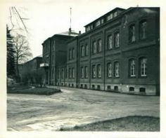 """The grounds of a psychiatric hospital in Hadamar, Germany,  where 10,072 men, women, and children victims were asphyxiated with carbon monoxide in a gas chamber in the first phase of the killing operations (January to August 1941) in the Nazi """"euthanasia"""" programme. Another 4,000 then died through starvation and by lethal injection until March 1945."""