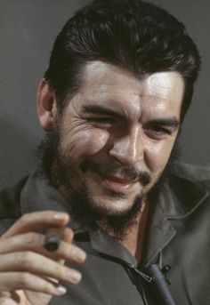 Che GUEVARA in CUBA, 1964               CUBA. Havana. Fidel Castro (facing camera, to the left). 1964.