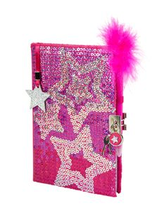 Girls Clothing | Journals & Writing | Sequin Star Journal | Shop Justice