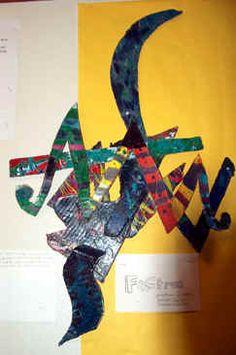 Art Lesson Plan: Frank Stella Cardboard Relief - Possible Olympics Lesson ? Cardboard Relief, Cardboard Art, Sculpture Lessons, Sculpture Ideas, Frank Stella Art, Middle School Art Projects, School Projects, Art Assignments, Art Classroom