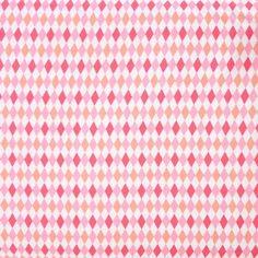 Tissu Mini Harlequin rose