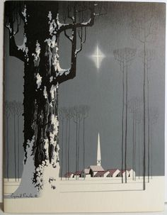 Eyvind Earle - watercolor -
