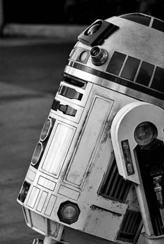 R2-D2. Only the best droid ever in the Star Wars galaxy!