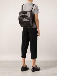 Kofta Geometric Shape Backpack - H. Lorenzo - Farfetch.com
