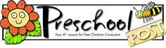 Preschool Post (a great Christian website - free!)  #preschool #free #printables