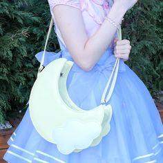 """Japanese kawaii moon bag - Use the code """"batty"""" at Sanrense for a 10% discount!"""