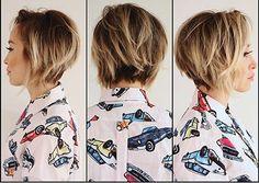 Anh Co Tran @anhcotran Disheveled gradua...Instagram photo | Websta (Webstagram) 50 Short Bob Hairstyles 2015 – 2016 | http://www.short-haircut.com/50-short-bob-hairstyles-2015-2016.html