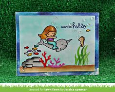 the Lawn Fawn blog: Lawn Fawn Intro: Mermaid for You
