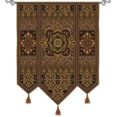 """Fine Art Tapestries Masala Anise Tapestry & Reviews 