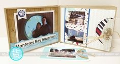 Monterey Bay Aquarium Mini Album...A Day To Remember