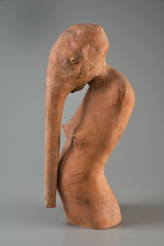 Daisy Youngblood, Romana, 1987, low-fired clay
