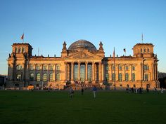 Reichstag Building, Berlin - After its completion in 1999, it once again became the meeting place of the German parliament: the modern Bundestag.