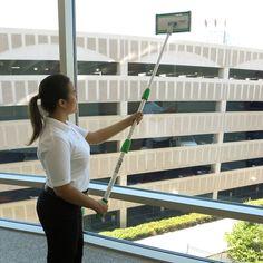 Unger CK053 10-Piece Indoor Window Cleaning Kit Window Cleaning Tools, Cleaning Kit, Window Squeegee, Thread Adapter, Online Restaurant, Telescopic Pole, Hotel Supplies, Clean Microfiber