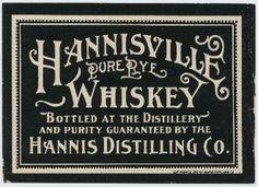 Hannisville_Rye_Label
