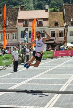 The finish line is the most beautiful place in the world! My 2nd marathon! Maratonul International Brasov, May 29, 2016