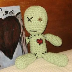 Found at Amigurumipatterns.net ... I try to post free patterns but I really like this little voodoo doll