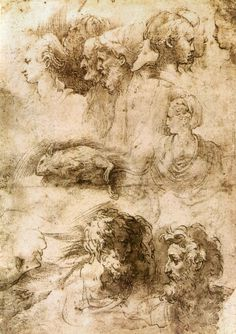 Drawings by Parmigianino
