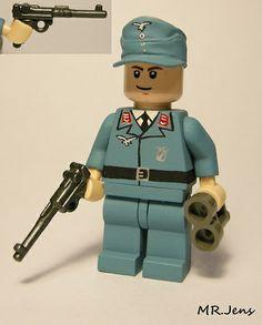 Luftwaffe Officer WWII LEGO