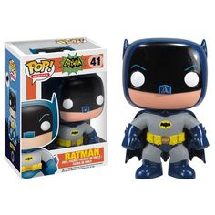 From the hit wacky 1966 Batman TV Series! This Batman 1966 TV Series Pop! Vinyl Figure features the Caped Crusader himself! Batman (as played by Adam West) Batman Vs, Batman Pop Vinyl, Funko Pop Batman, Batman 1966, Batman Stuff, Lego Batman, Spiderman, Pop Vinyl Figures, Funko Pop Figures