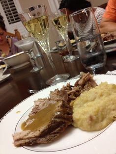 "Mark's German Roasted Lamb served with Suzanna's German ""Heaven and Earth"" Apple-Mashed Potatoes (#OMG!)"